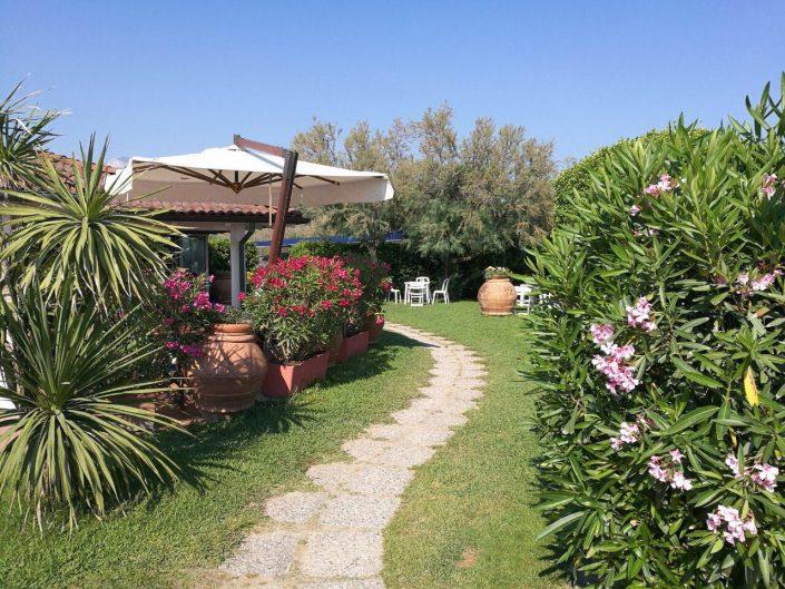 giardino - bagno oliviero